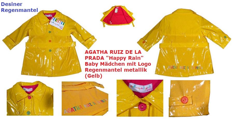 Desiner Regenmantel Happy Rain