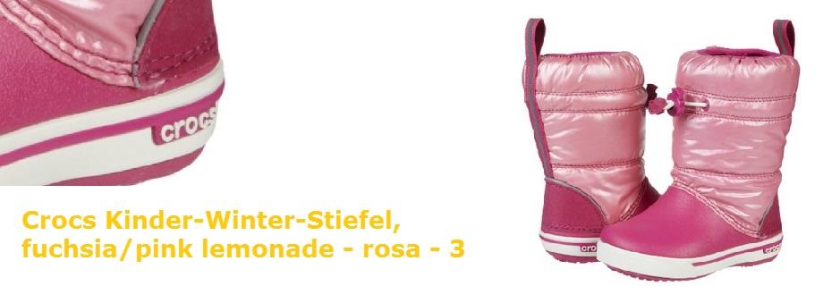 Gummistiefel crocs Boot Unisex rosa