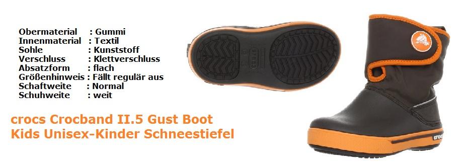 Gummistiefel crocs Boot Unisex
