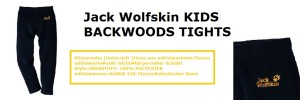 Jack Wolfskin Unterziehhose Fleece